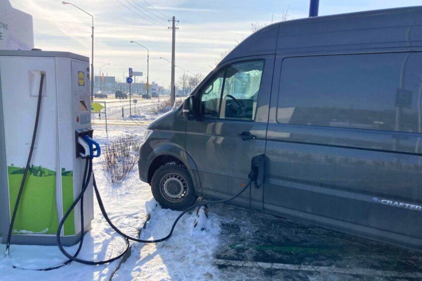 VW e-Crafter – relacja Przemka z zimowej eksploatacji elektryka
