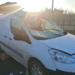 Na A1 od Iveco Daily odkręciło się koło i uderzyło w furgonetkę