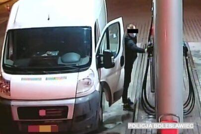 Pożyczał Ducato od kolegi i kradł nim paliwo ze stacji