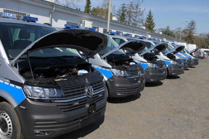 162 sztuki patrolowych VW Transporterów dla polskiej policji