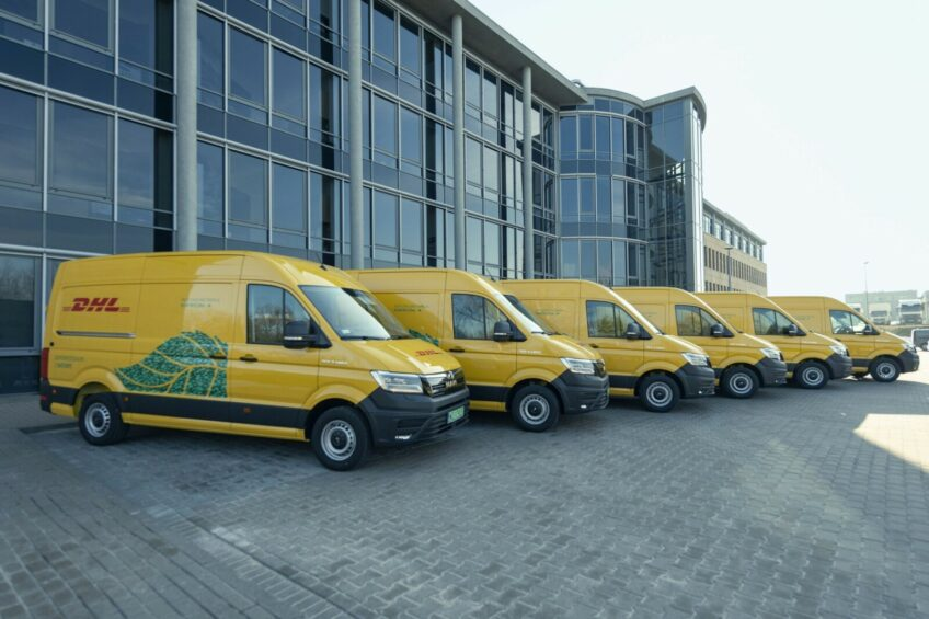 33 elektryczne MAN-y eTGE dla DHL Parcel Polska