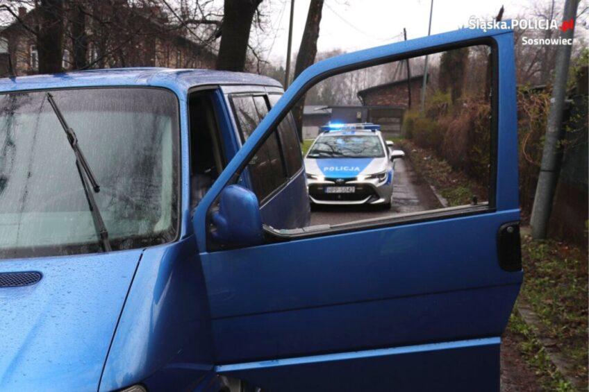 Uciekał Volkswagenem T4 przed policją. Był pod wpływem narkotyków