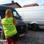 4 skradzione w Belgii Sprintery odnaleziono w Lubuskiem