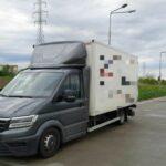 VW Crafter ważył 10350 kg – kierowca z mandatem 500 złotych