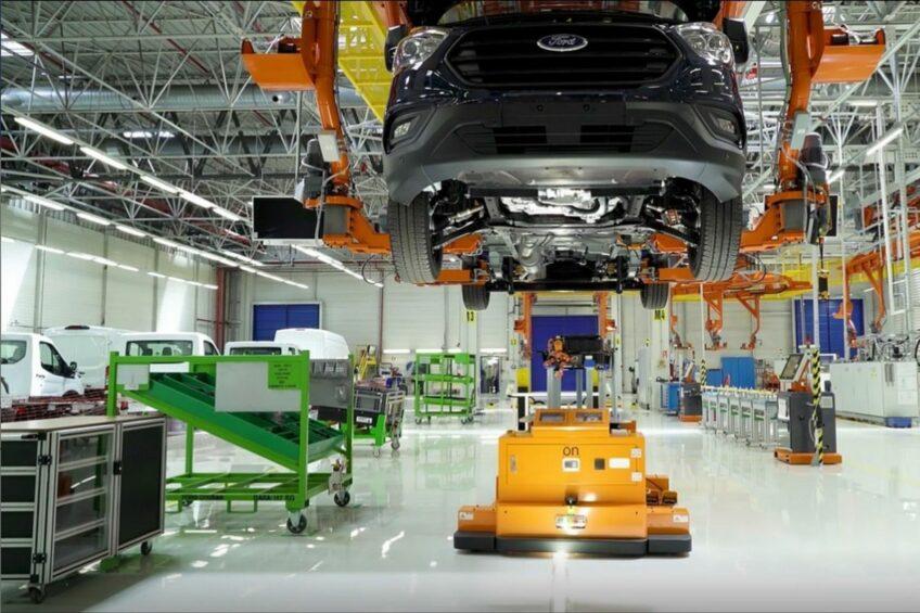 Wstrzymana produkcja Forda Transita do 13 czerwca