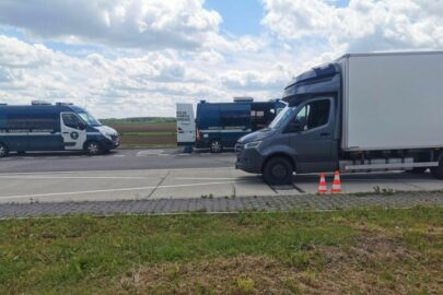 Ciężki Sprinter na wadze w Piórkowie – ważył 8 ton
