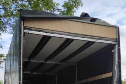 Podwójny dach w ładowni Masterki wypełniony był kontrabandą