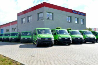 40 minibusów MAN TGE dołącza do floty GTV Bus