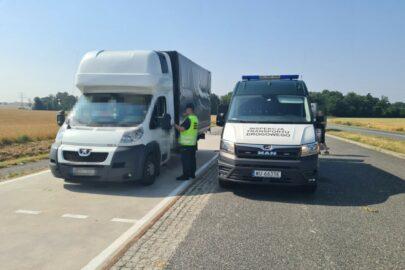 50 przeciążonych busów – rekordzista ważył 8050 kg