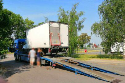 Iveco Daily ważyło 4200 kg na pusto i 7700 kg z towarem