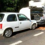 Kolizja w trakcie kontroli ITD – kierowca Sprintera ukarany mandatem