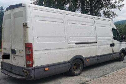 Niesprawne Iveco Daily ważyło 8280 kg – mandat i zatrzymany dowód