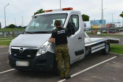 Opel Movano z podrobionym numerem VIN zatrzymany w Medyce