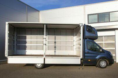 Rejestracje nowych pojazdów dostawczych – lipiec 2021