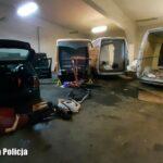 Kradli Mercedesy Sprintery w Niemczech. Wpadli pod Żaganiem