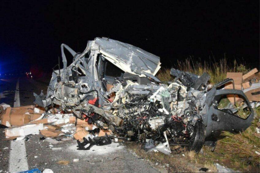 Śmiertelny wypadek na Słowacji. Zmarł 37-letni Polak z Renault Trafic