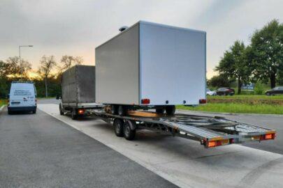 Transport na B+E bez licencji i tacho a kierowca bez badań