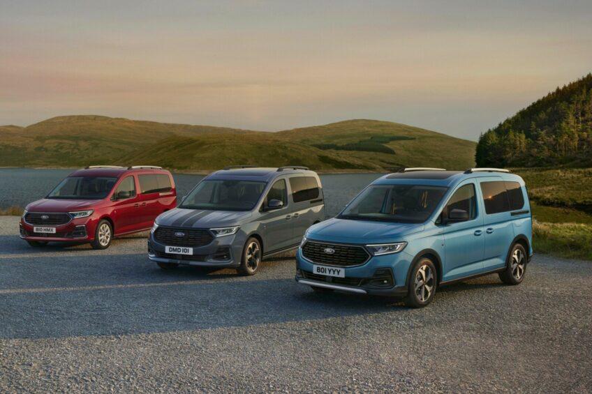 Ford Tourneo Connect III – silniki, skrzynie, wersje nadwoziowe